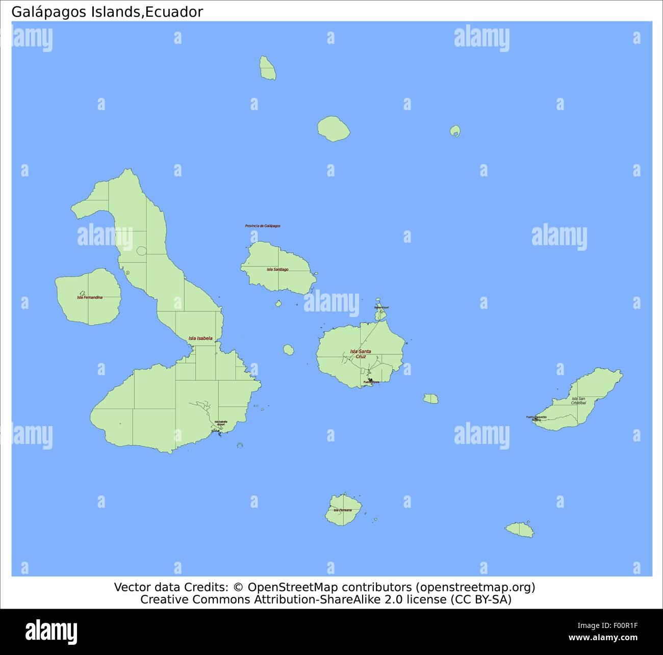 Galapagos Islands Ecuador Country City Island State Location