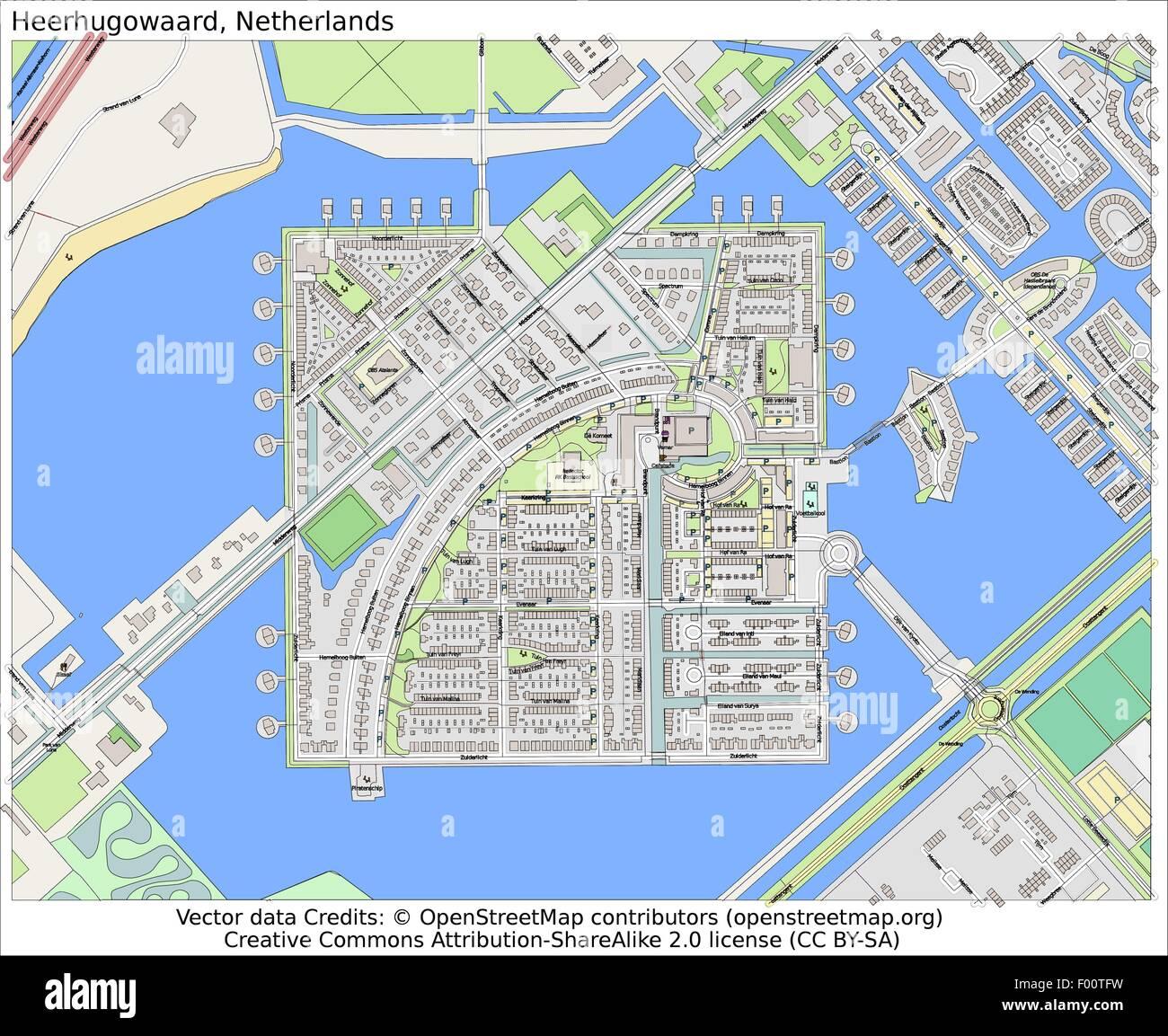 heerhugowaard netherlands country city island state location map