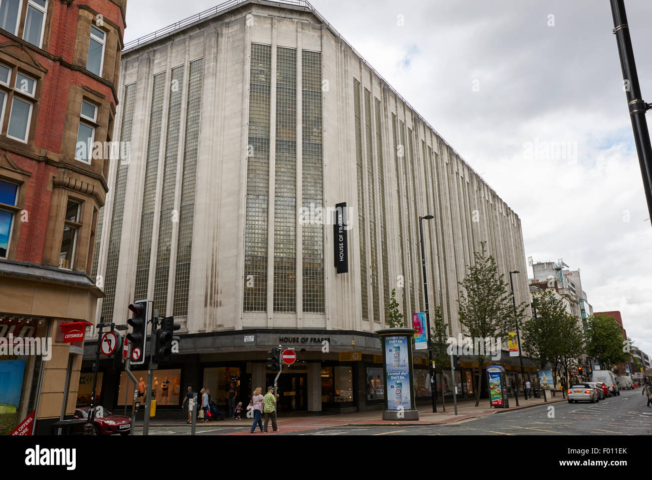 House of Fraser store on Deansgate Manchester England UK - Stock Image