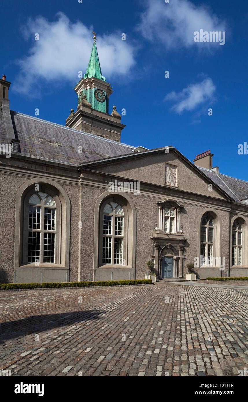 The Museum of Modern Art in the old Royal Hospital Kilmainham, Dublin, Ireland - Stock Image