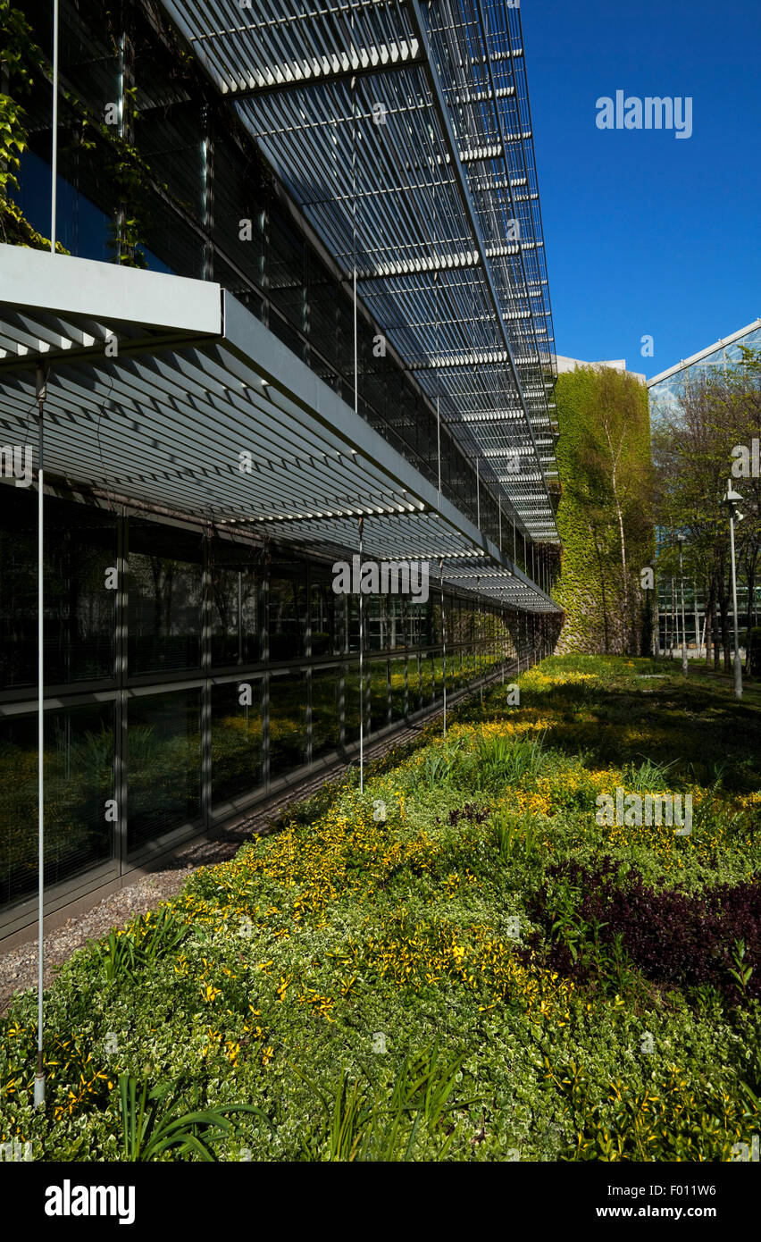 Dublin Corporation Civic Offices on Wood Quay. Dublin City, Ireland - Stock Image