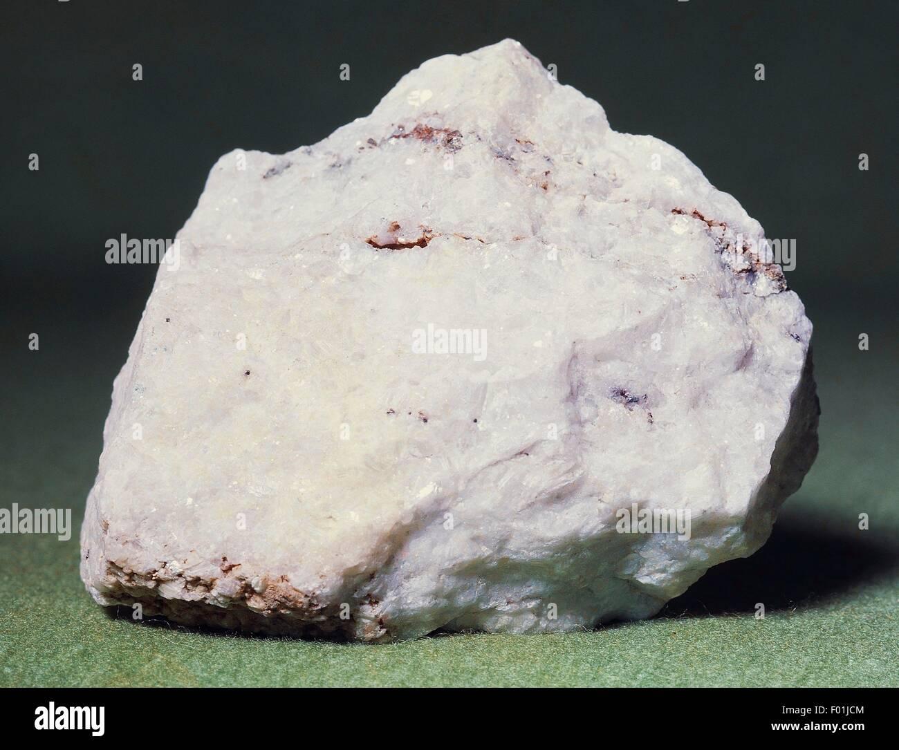 Baryte or Barite, sulphate. - Stock Image