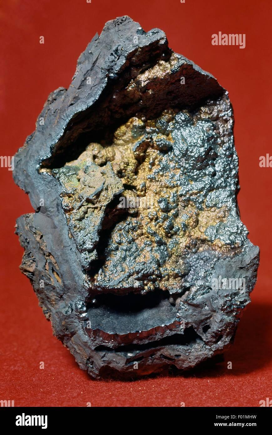 Goethite, oxide. - Stock Image