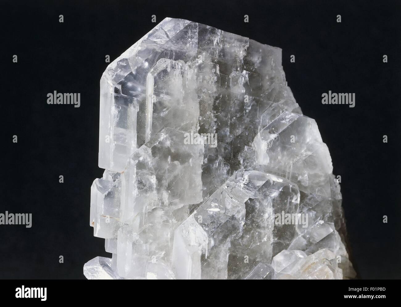 Minerals: Tabular barite - Stock Image