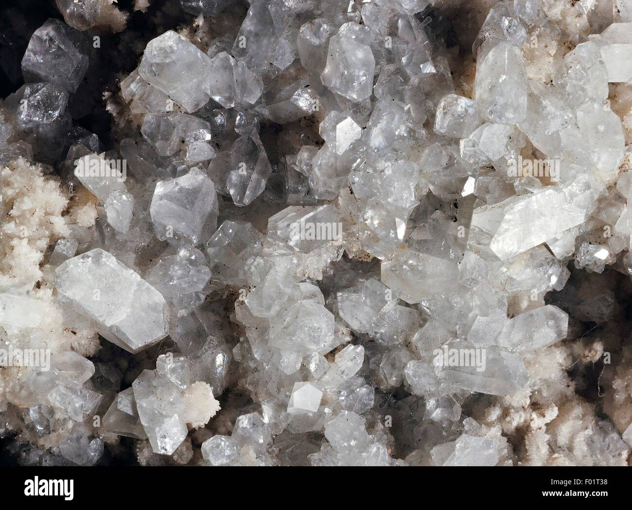 Celestine, sulphate. - Stock Image