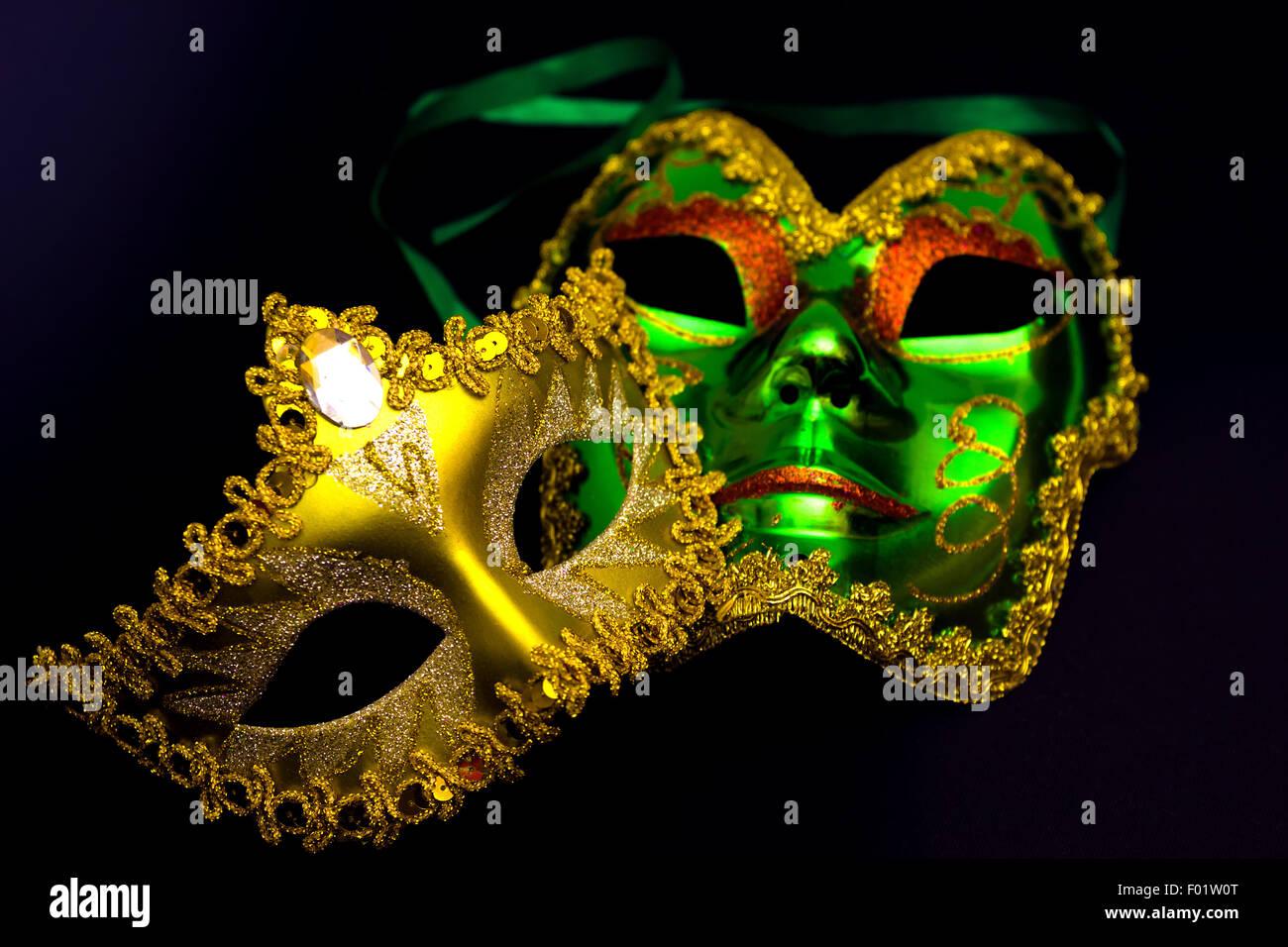 Carnival masks - Stock Image