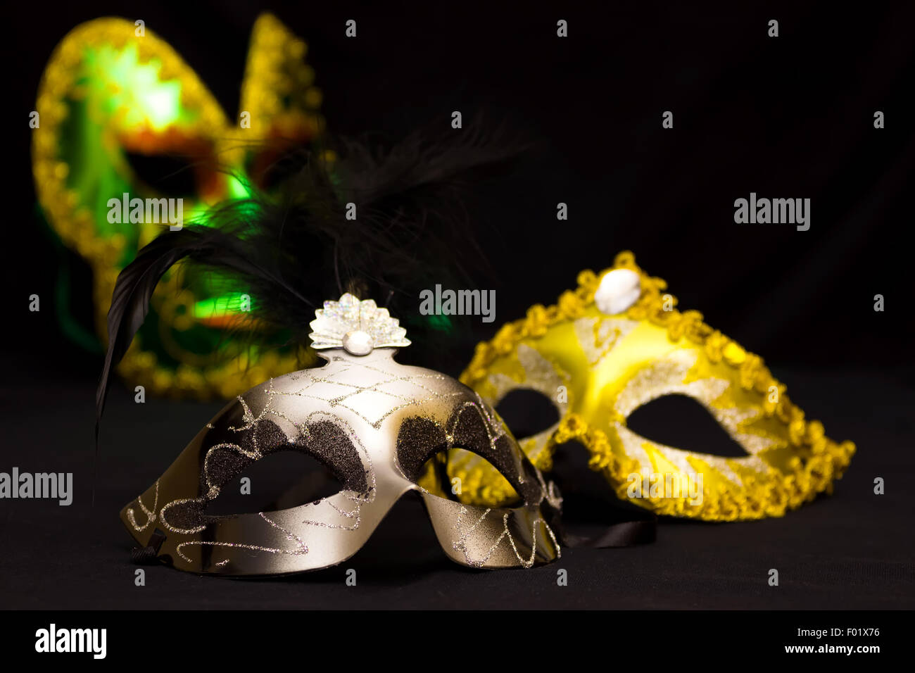 Theatrical masks - Stock Image