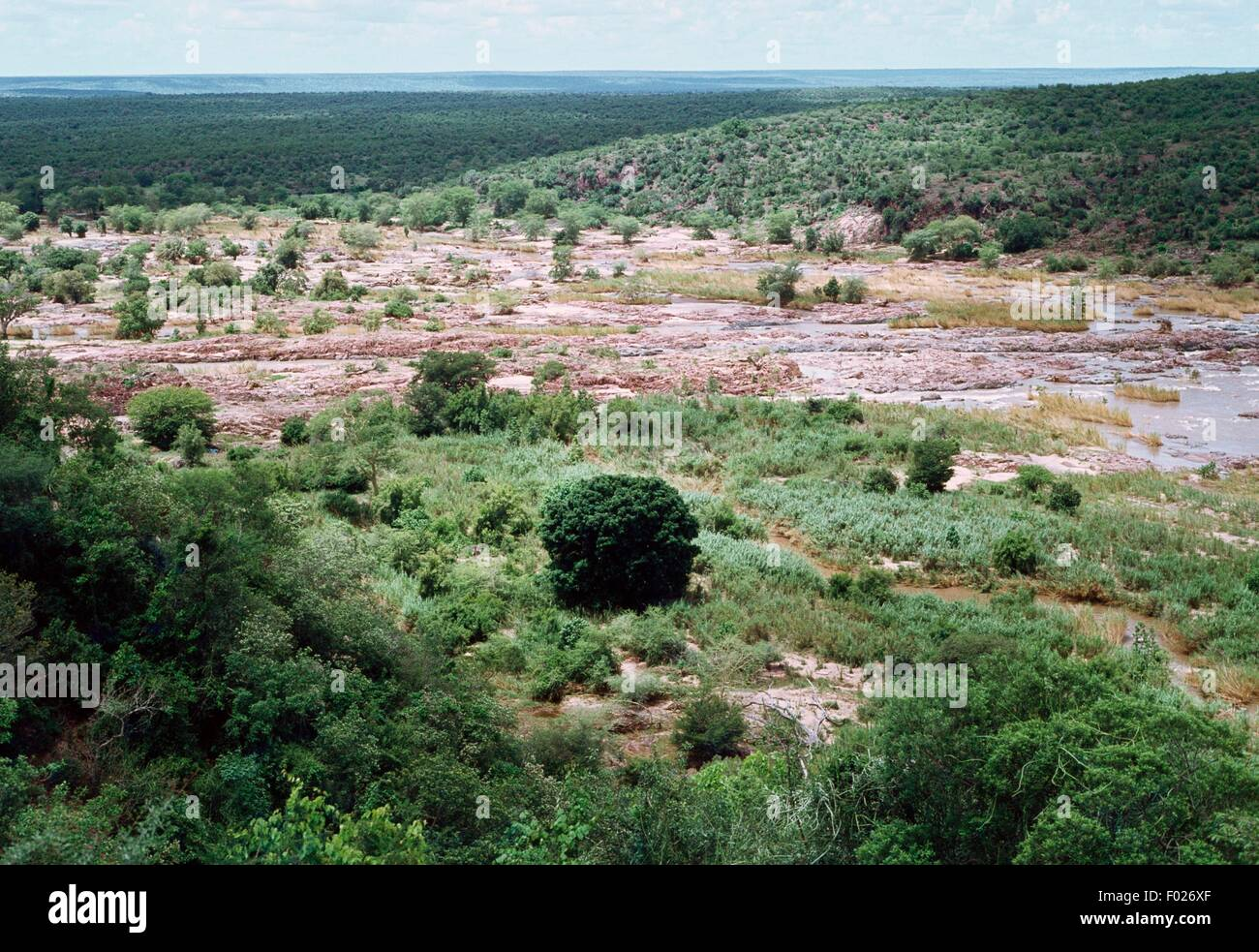 Olipants River, Kruger National Park, South Africa. - Stock Image