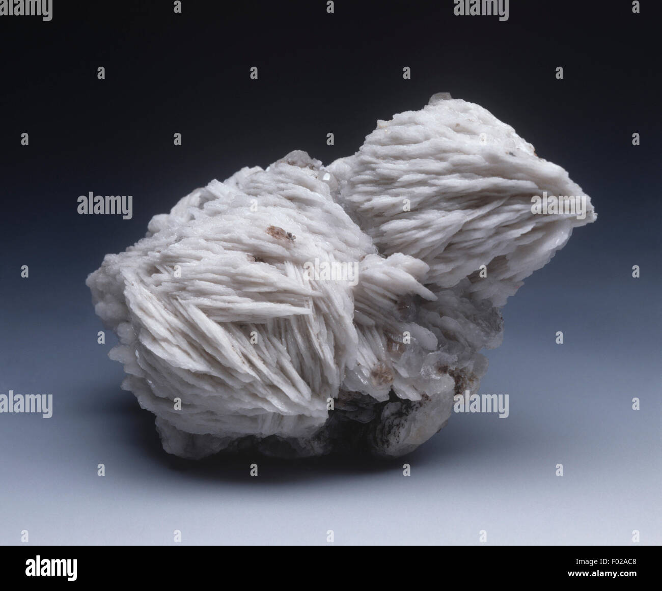Minerals - Baryte - Stock Image