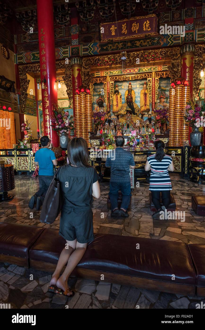Cih ji Palace Temple by the Lotus Pond, Kaohsiung, Taiwan - Stock Image