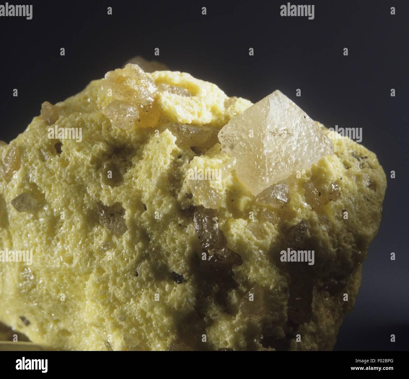 Anglesite, close-up - Stock Image