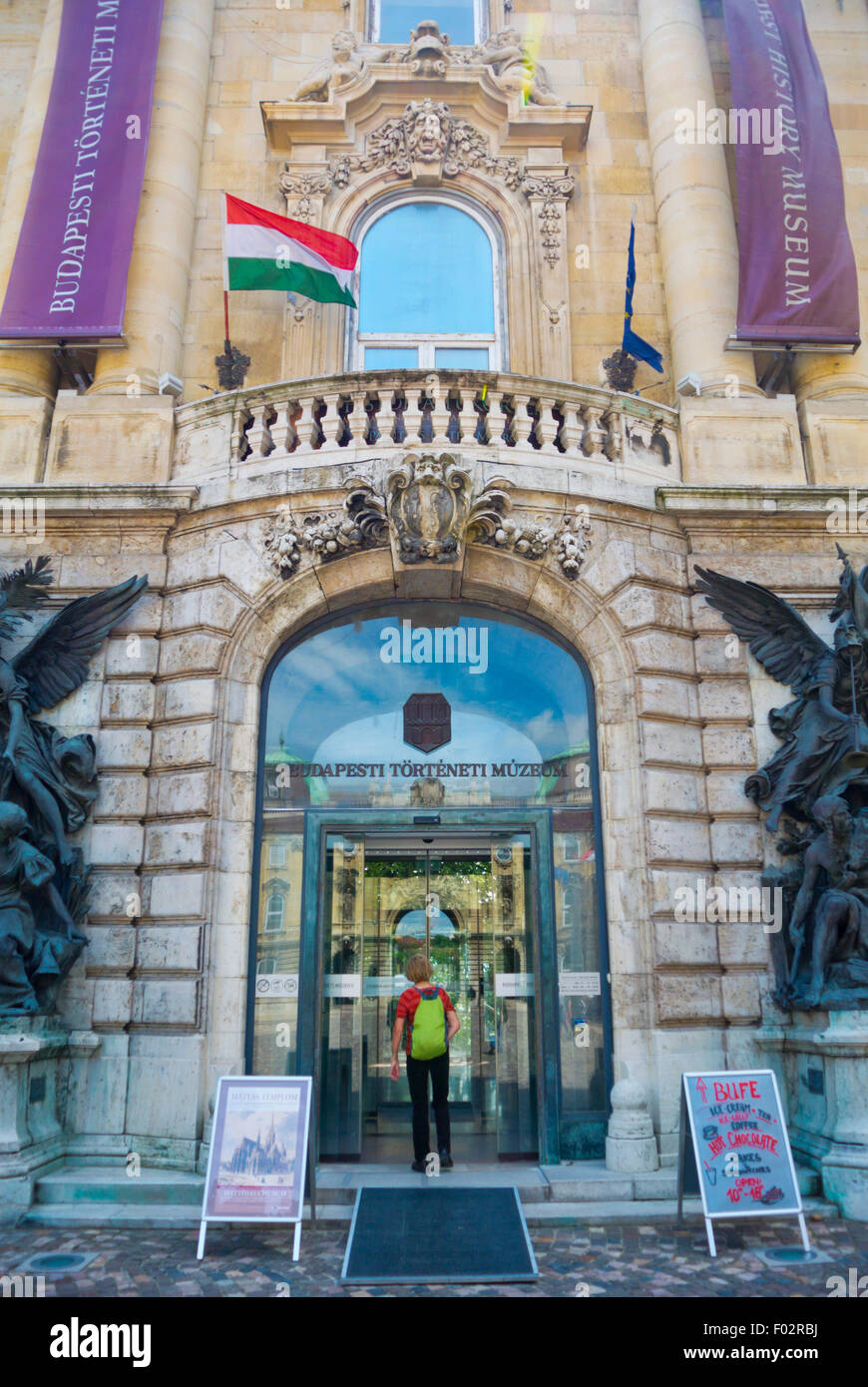 Budapest History Museum, Budavari Palota, the Castle, Castle district, Buda, Budapest, Hungary Stock Photo