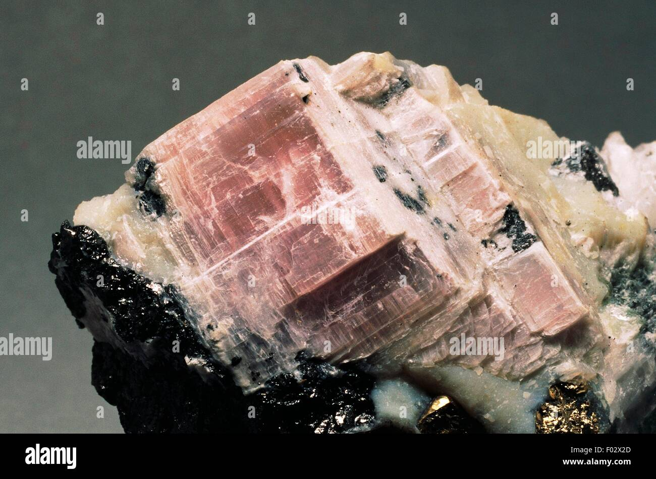 Anhydrite, sulphate. - Stock Image