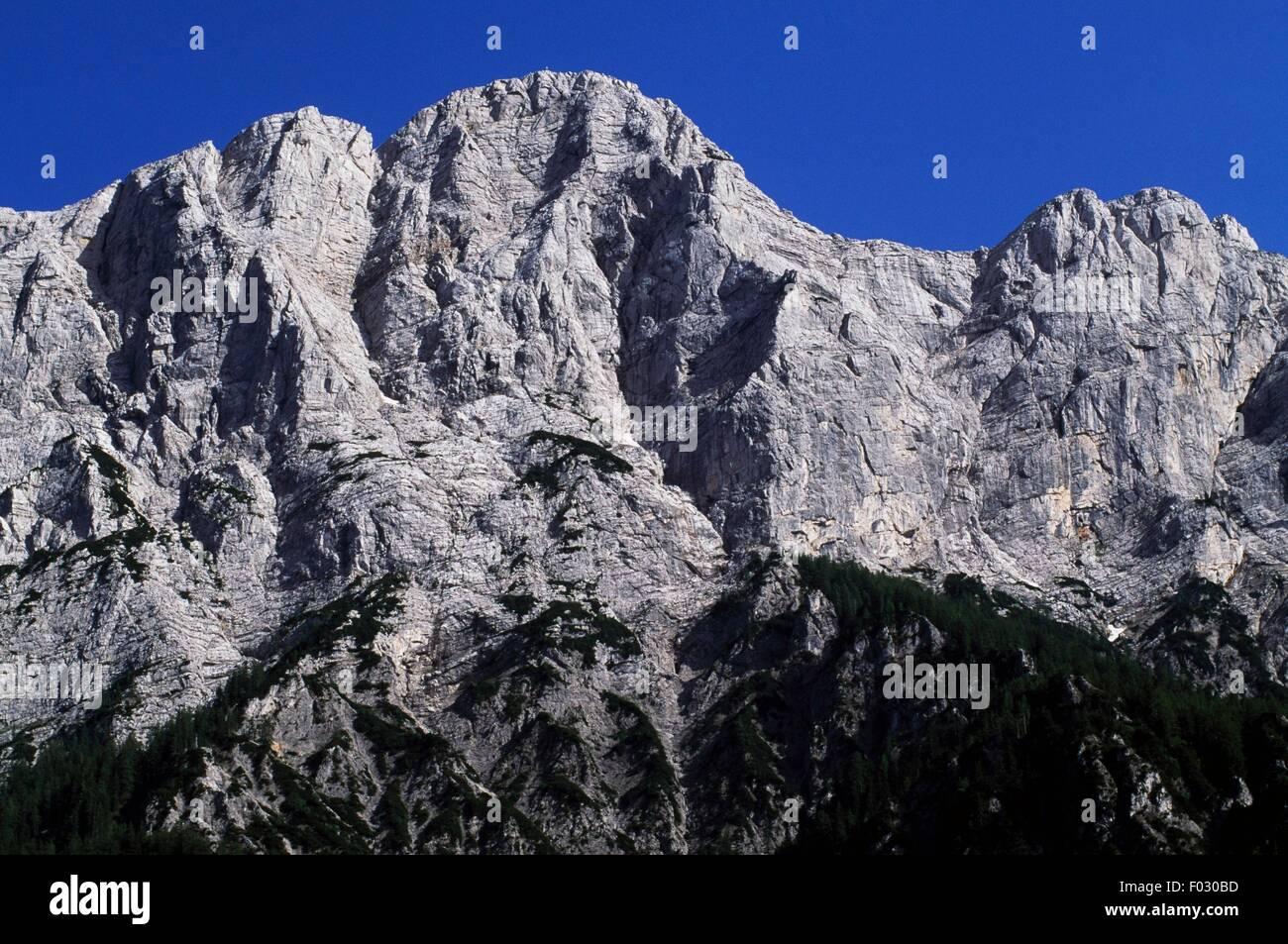Planspitze, Gesause Moutain Group, Styria, Austria. Stock Photo