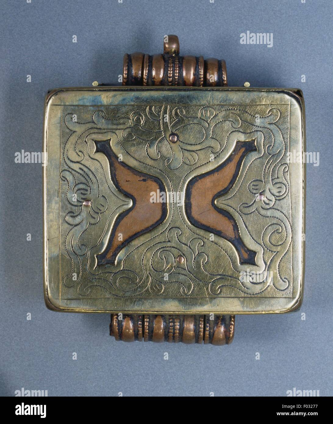 Reliquary pendant stock photos reliquary pendant stock images alamy ghau reliquary pendant in brass copper and bronze tibet stock image aloadofball Image collections