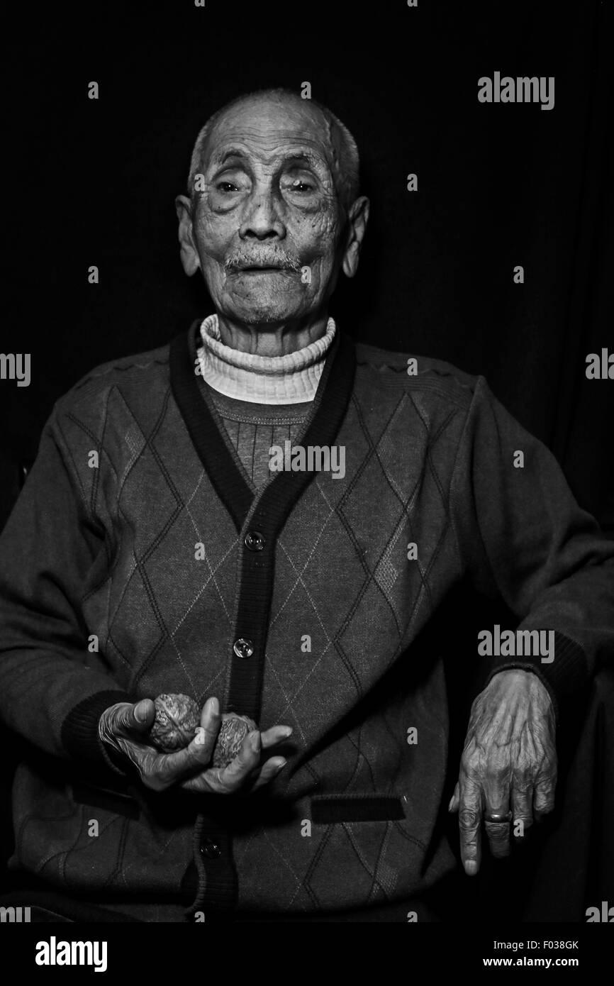 Chn. 26th Apr, 2015. CHINA - April 26 2015: (EDITORIAL USE ONLY. CHINA OUT)(MINIMUM PRICE: 100 USD) Li Zijun: Male, - Stock Image