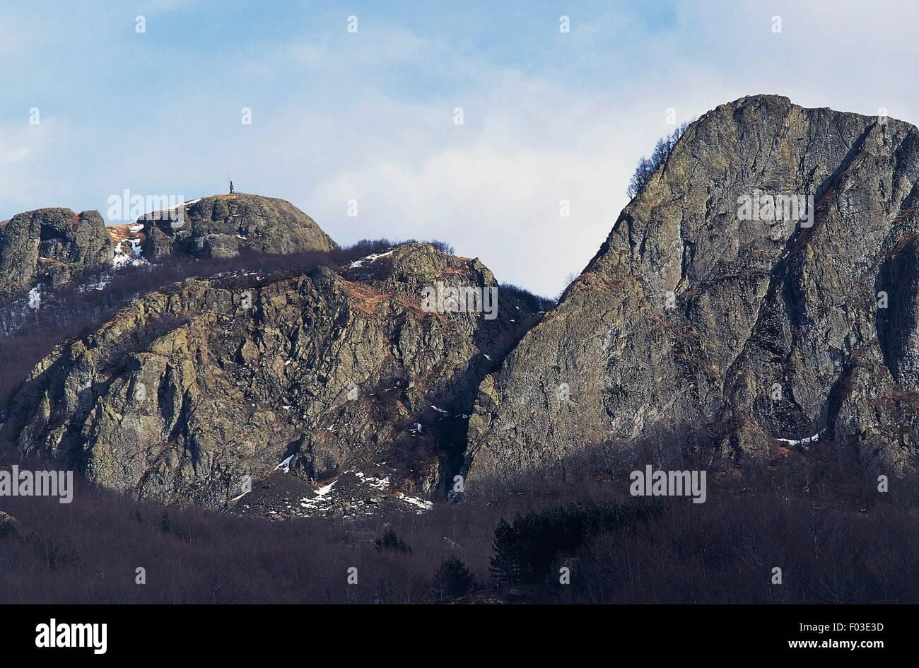 Mount Maggiorasca, Aveto Natural Regional Park, Liguria, Italy. Stock Photo