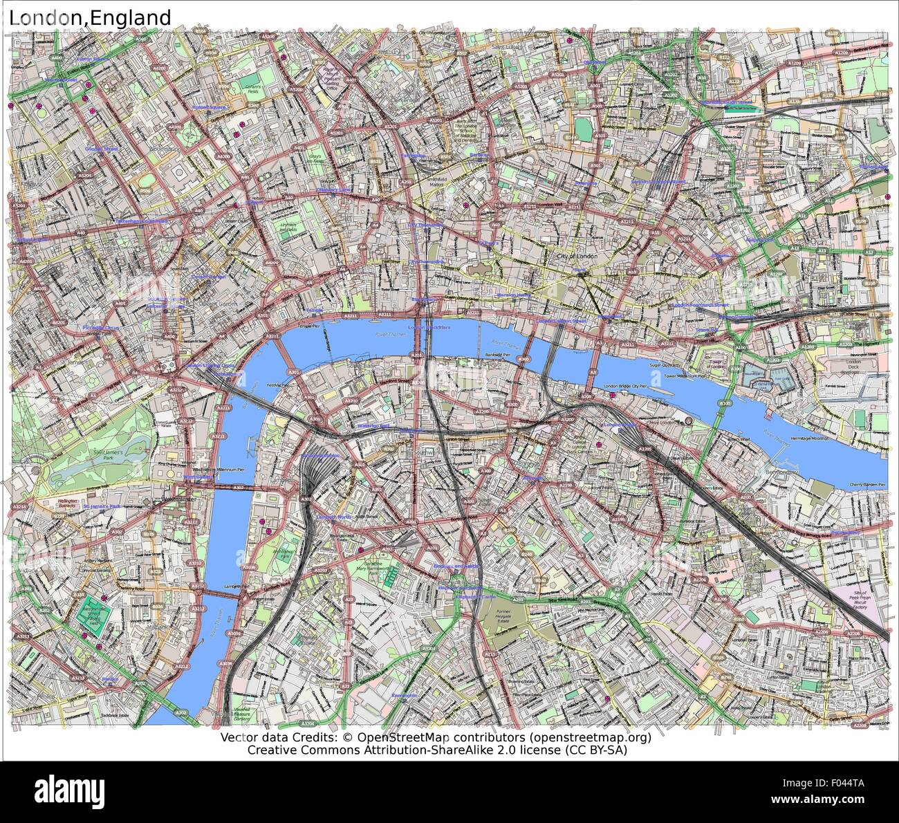 London On The Map Of England.England Map Stock Photos England Map Stock Images Alamy