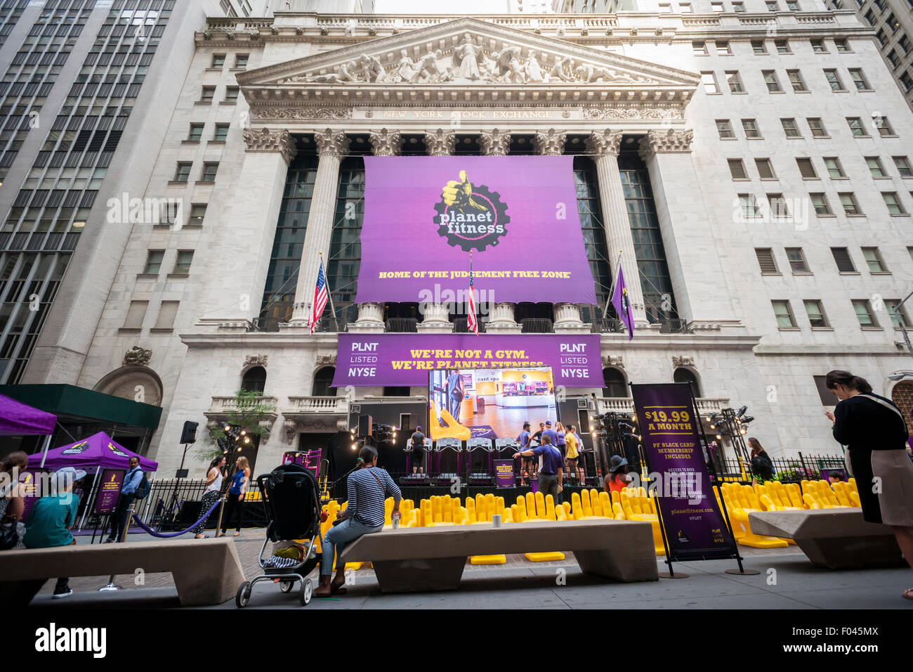 Planet Fitness Membership High Resolution Stock Photography And Images Alamy