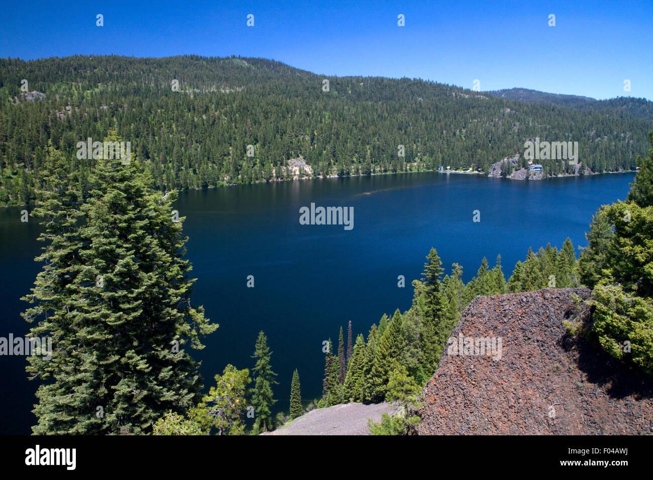 Payette Lake in McCall, Idaho, USA. - Stock Image