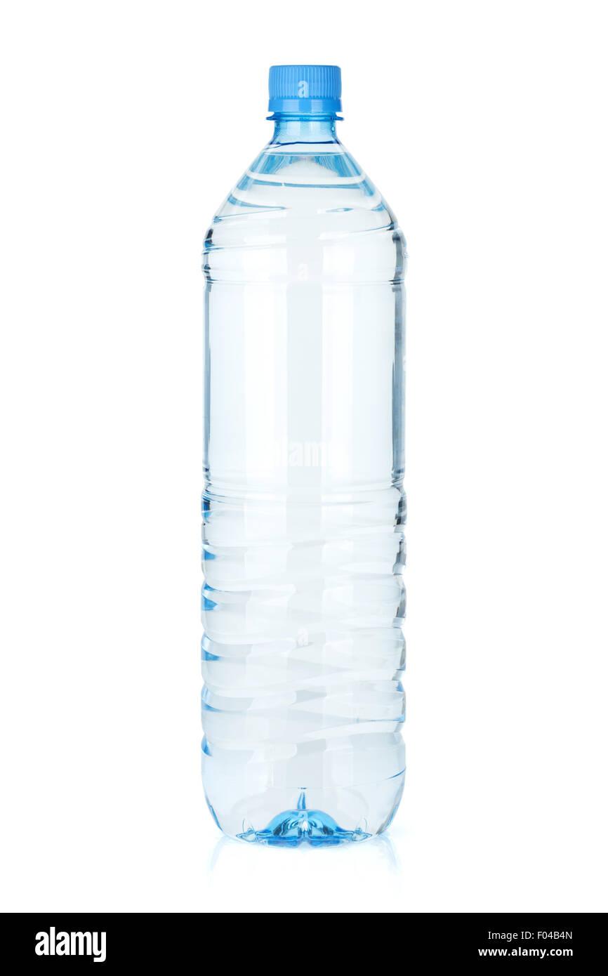 Water bottle. Isolated on white background - Stock Image