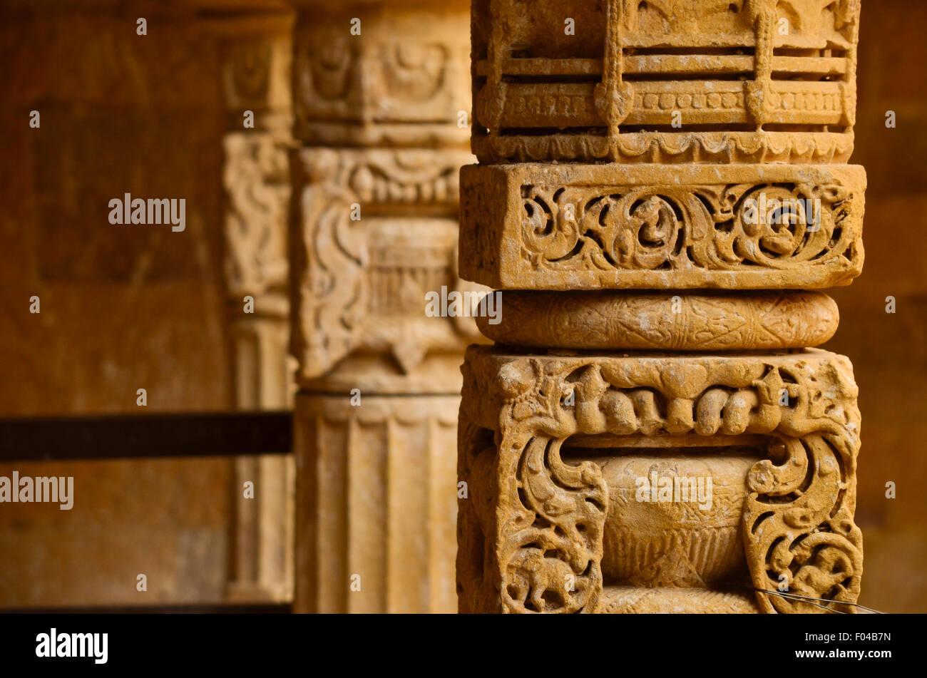 Aesthetic pillar - Stock Image