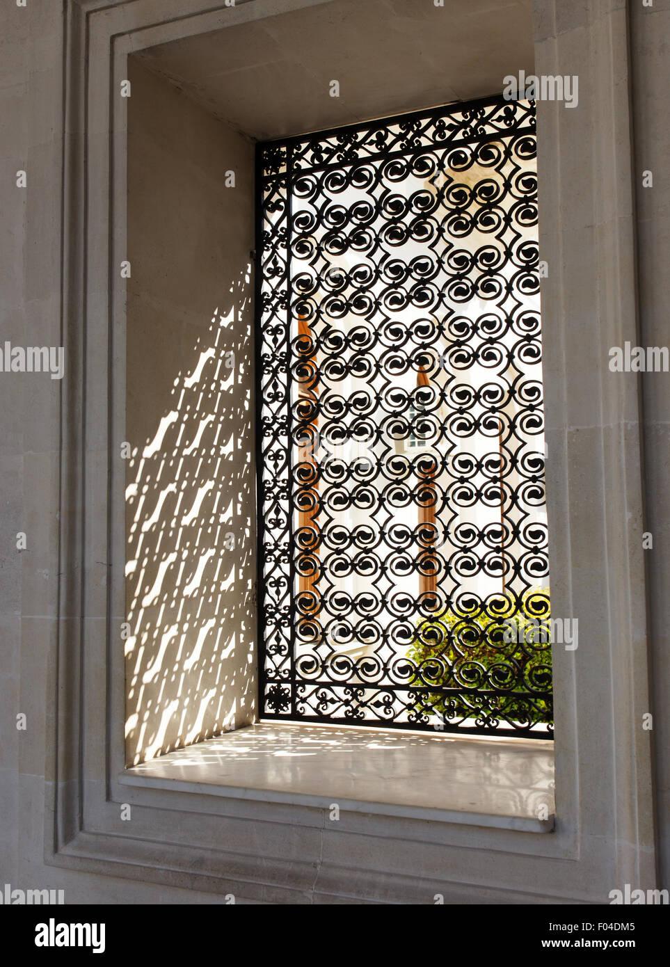 Window in Italian Yard of Livadia Palace - Stock Image