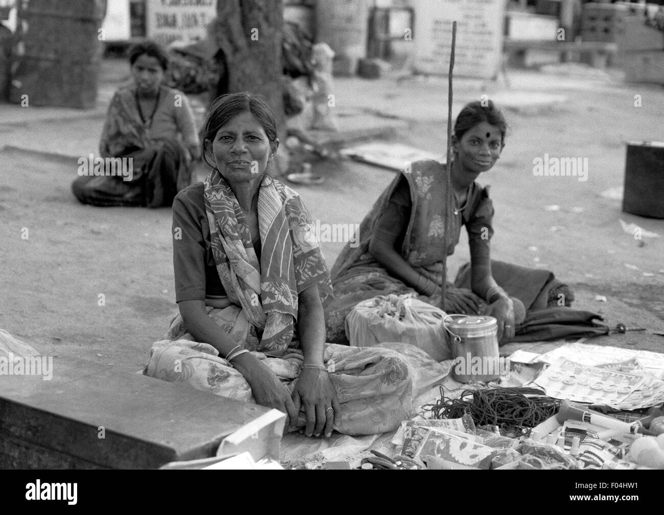 street vendors india brian mcguire - Stock Image