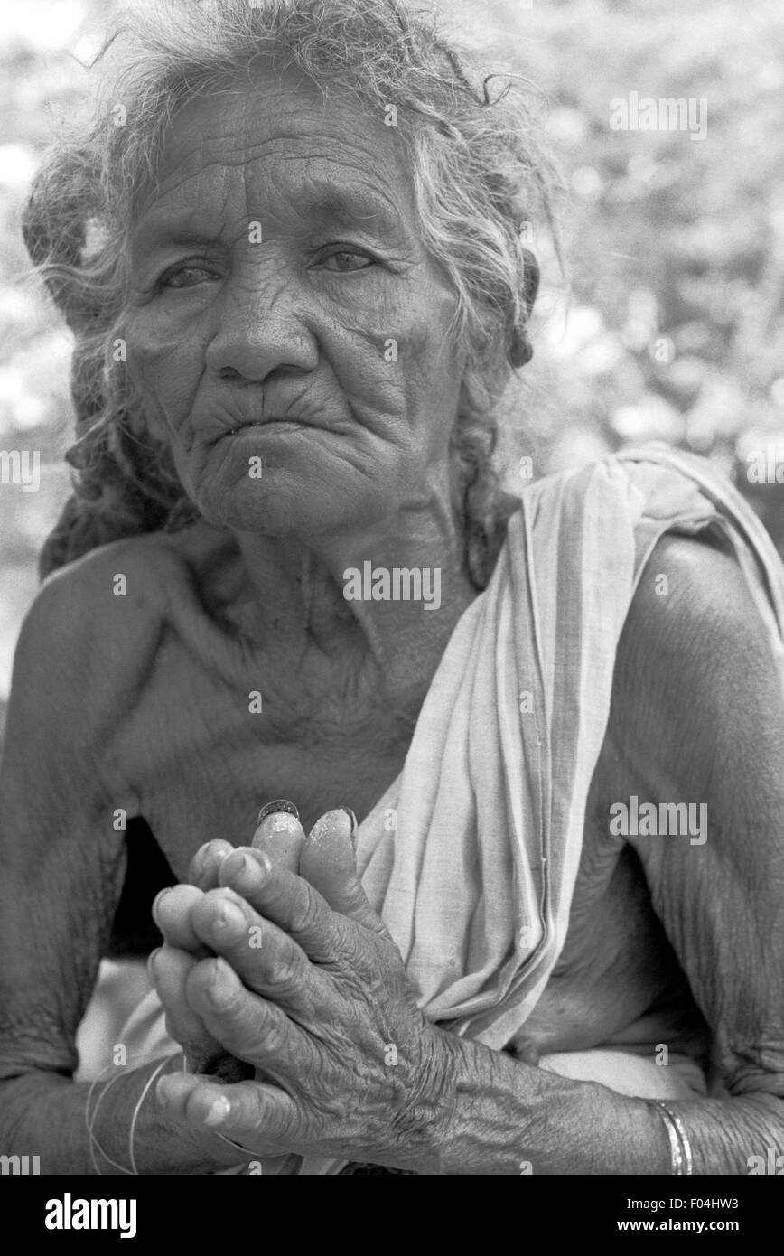 indian woman brian mcguire - Stock Image