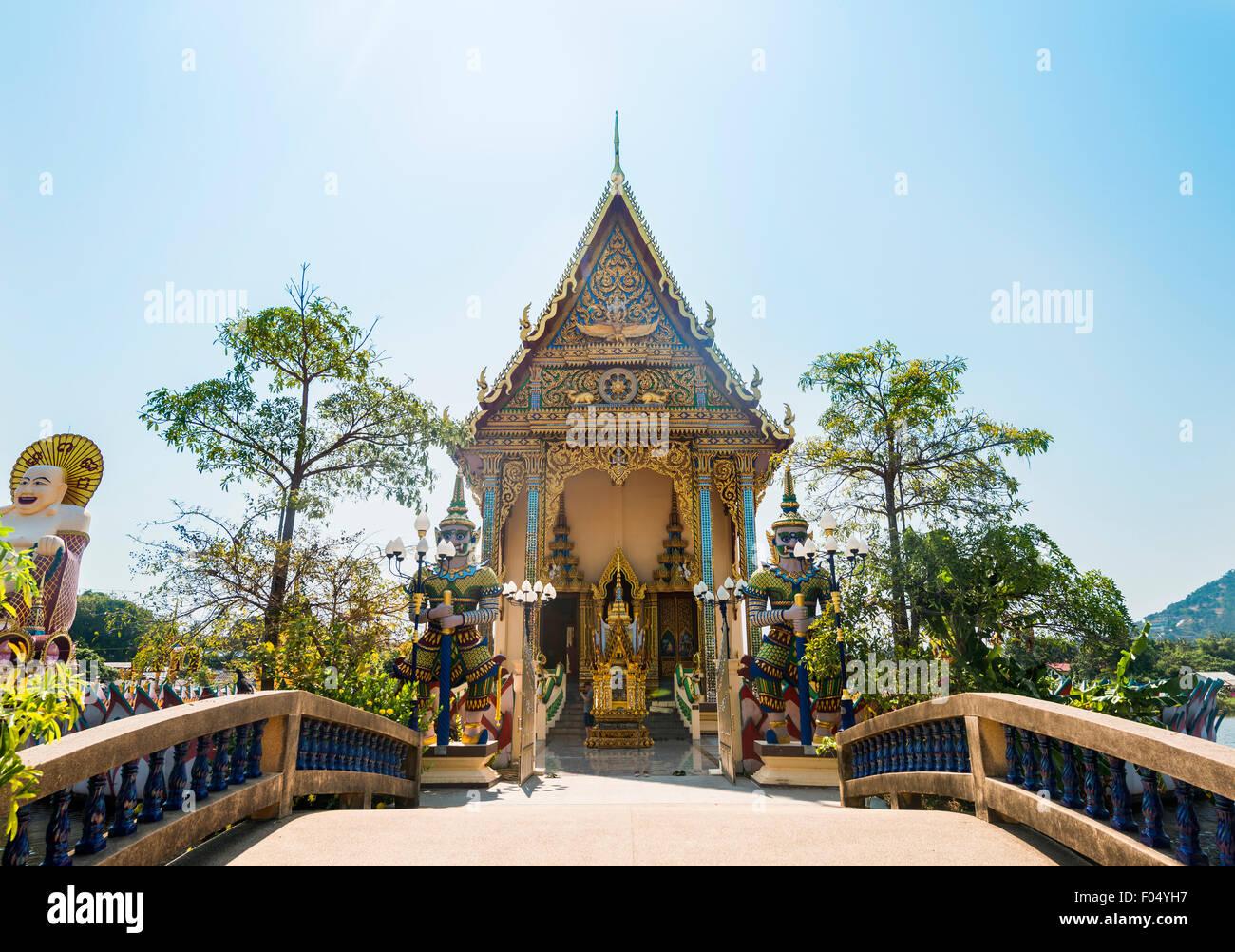 Wat Plai Laem Temple in Ban Bo Phut, Ko Samui, Thailand Stock Photo