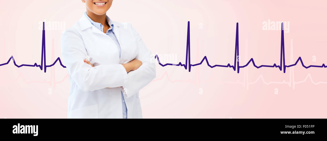 african american female doctor - Stock Image