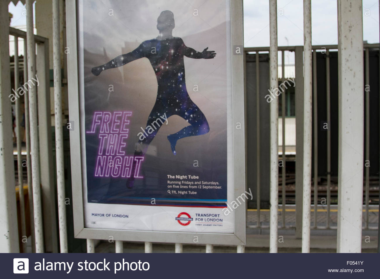 London, UK. 07th Aug, 2015. London, UK. 7th August 2015. mayor Boris Johnson has indicated the start date for London - Stock Image