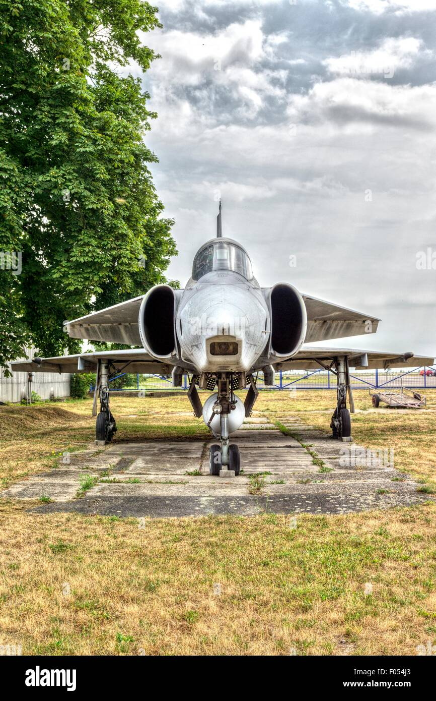 The Aviation Museum Kbely, Prague, Czech Republic - Stock Image