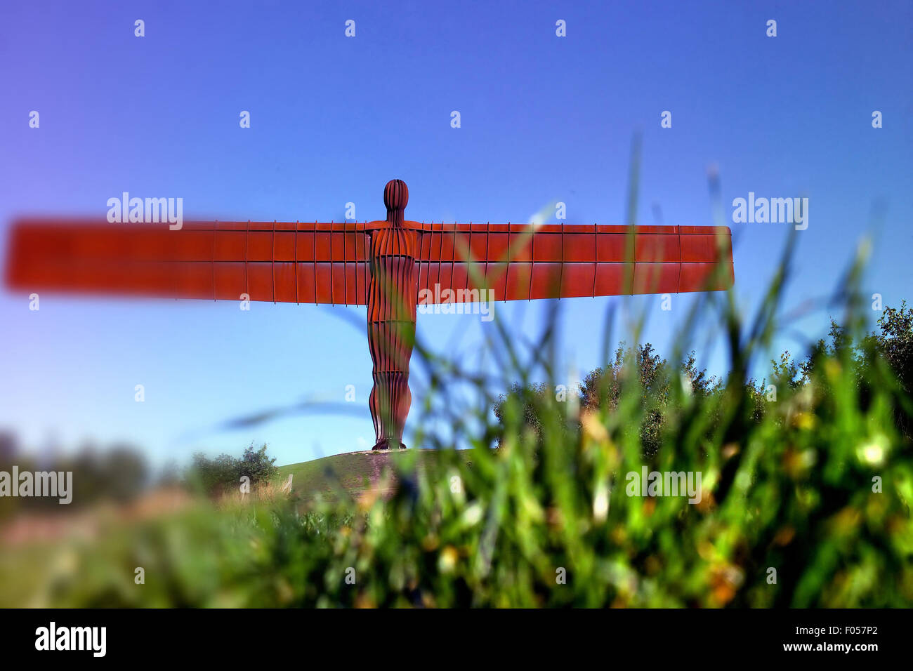 The Angel of the North - Stock Image