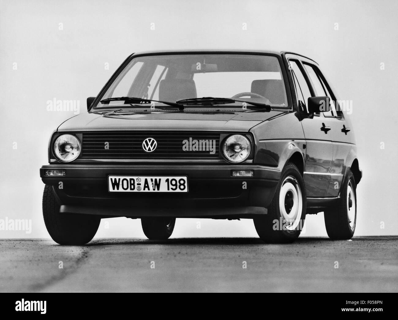 transport / transportation, car, vehicle variants, Volkswagen, VW Golf Mk2 CL, 1980s, Additional-Rights-Clearences - Stock Image