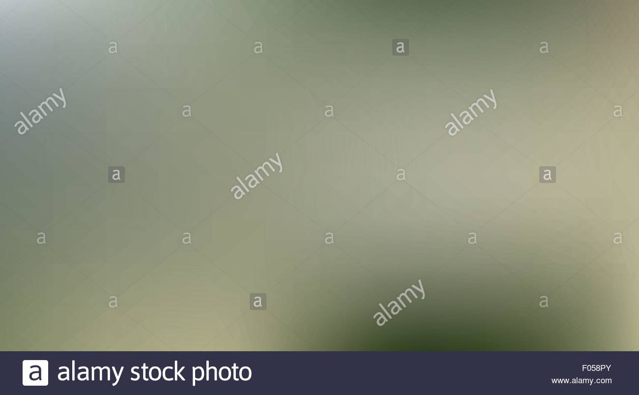 Olive green blurred background - Stock Vector