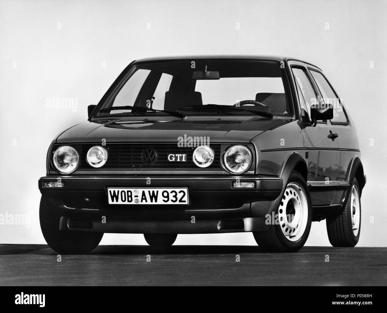 transport / transportation, car, vehicle variants, Volkswagen, VW Golf Mk2 GTI, 1980s, Additional-Rights-Clearences - Stock Image