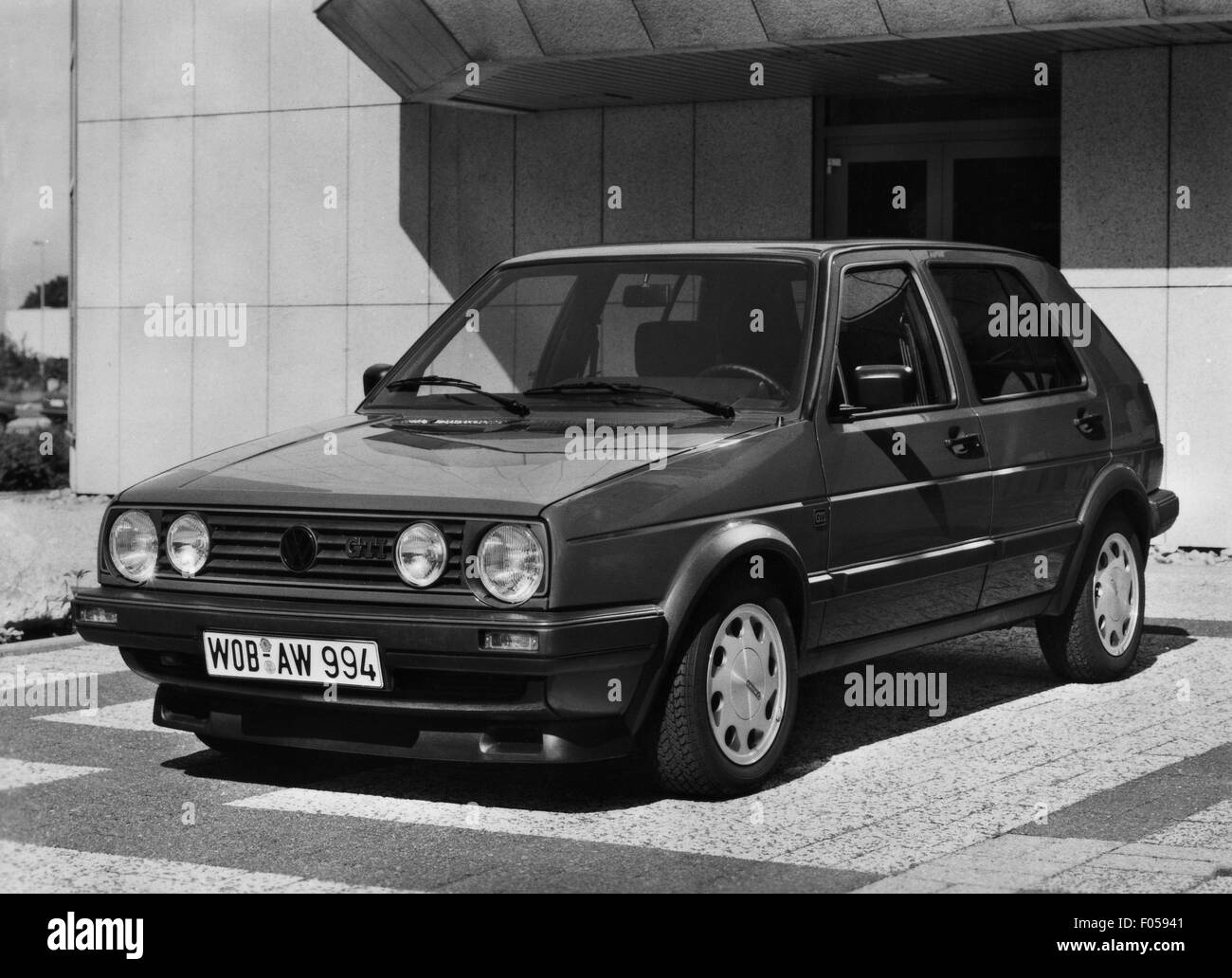 transport / transportation, car, vehicle variants, Volkswagen, VW Golf Mk2 GTI, 1980s, Additional-Rights-Clearences Stock Photo