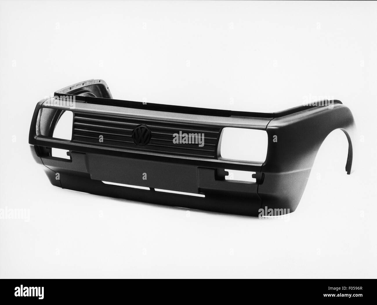 vw golf mk2 radiator grill and front bumper 1980s stock. Black Bedroom Furniture Sets. Home Design Ideas