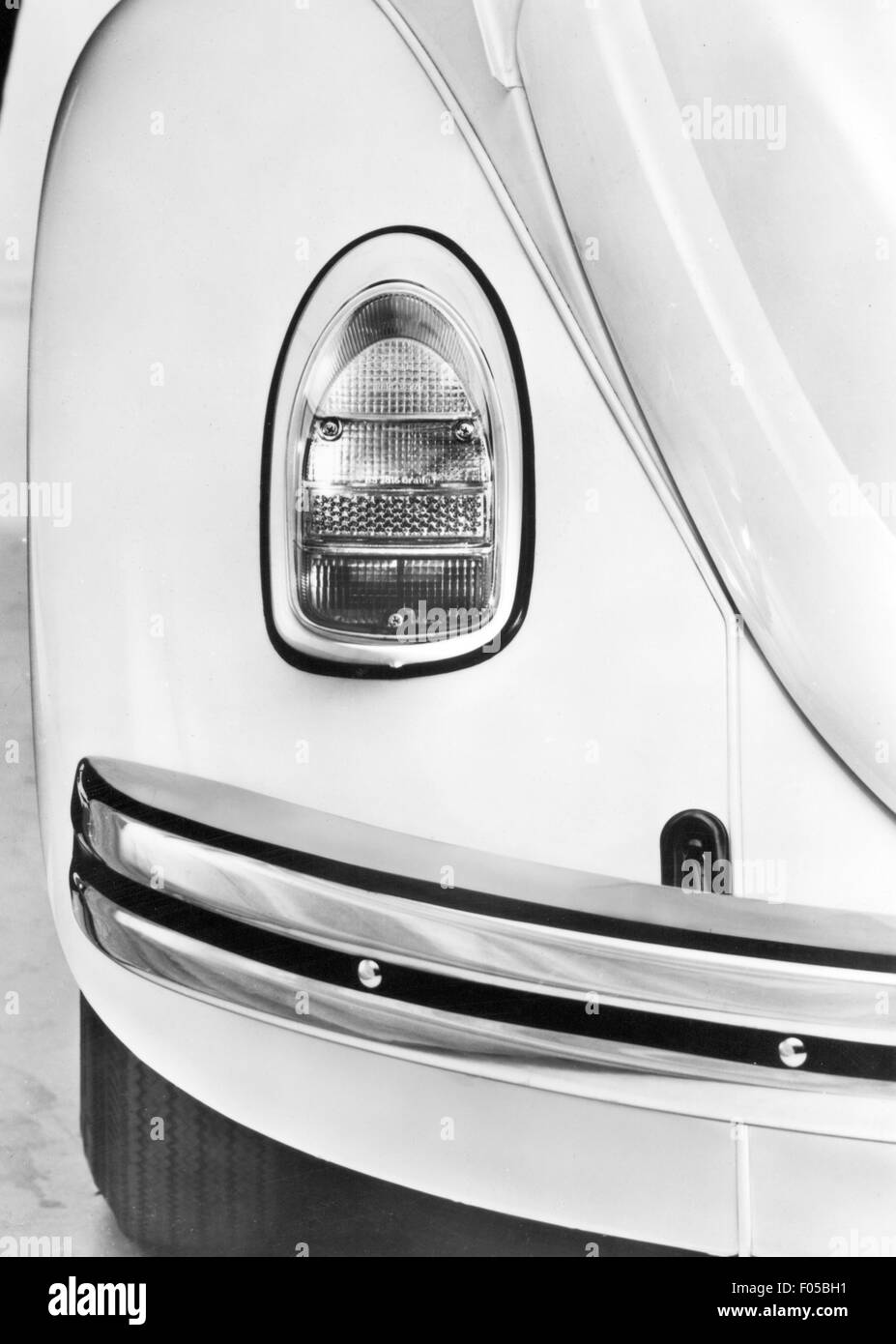 transport / transportation, car, vehicle variants, Volkswagen, VW Beetle 1300 and 1500, details, left rear lamp Stock Photo