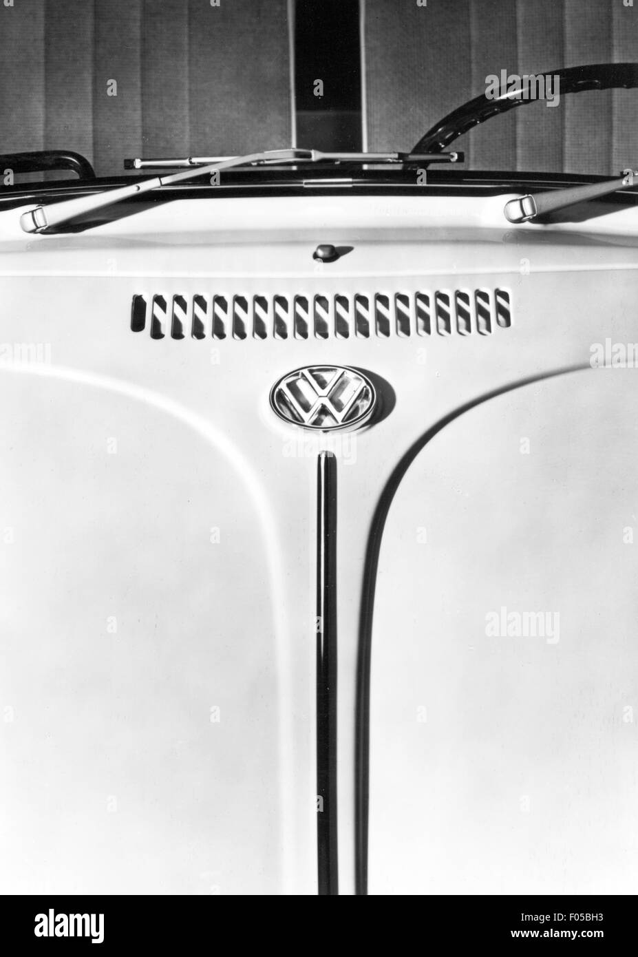 transport / transportation, car, vehicle variants, Volkswagen, VW Beetle 1300 and 1500, details, ventilation slots Stock Photo