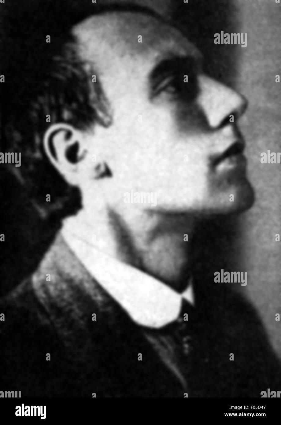 Johannes Robert Becher, 1920s - Stock Image