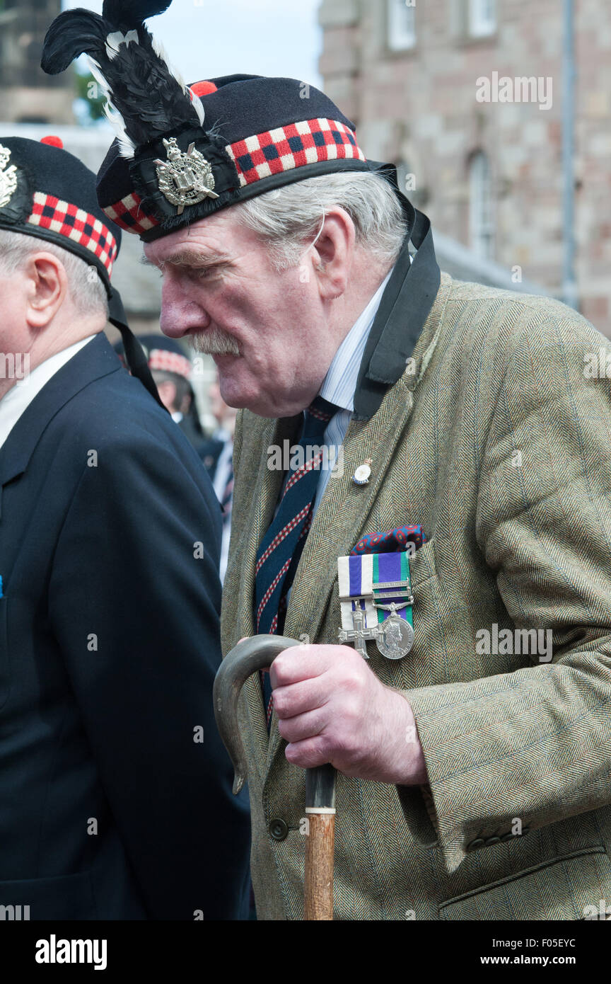 An Old Soldier Of The King S Own Scottish Borderers A