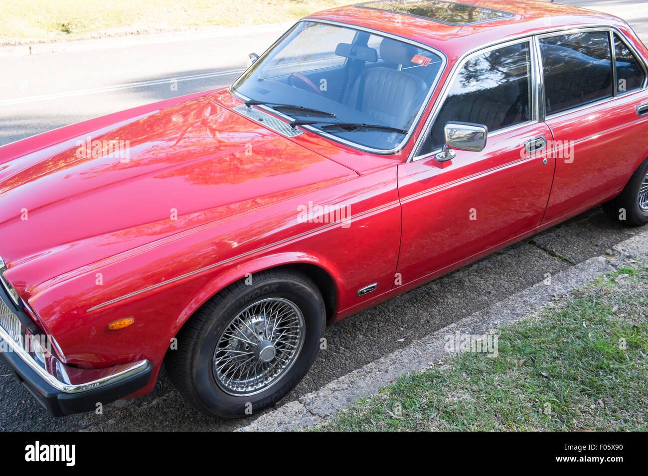 series 3 1985 classic red xj6 jaguar 4 door saloon car in. Black Bedroom Furniture Sets. Home Design Ideas