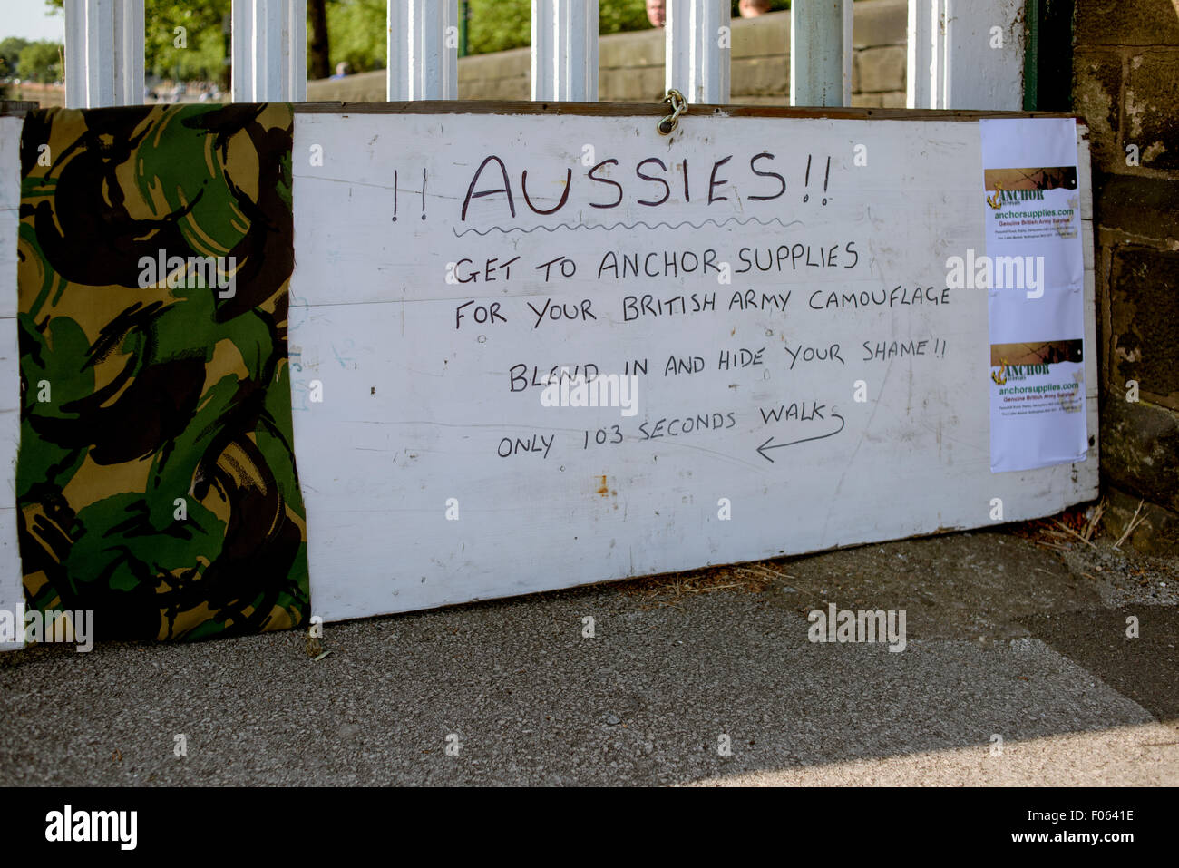australian fans at trent bridge stock photos australian fans at
