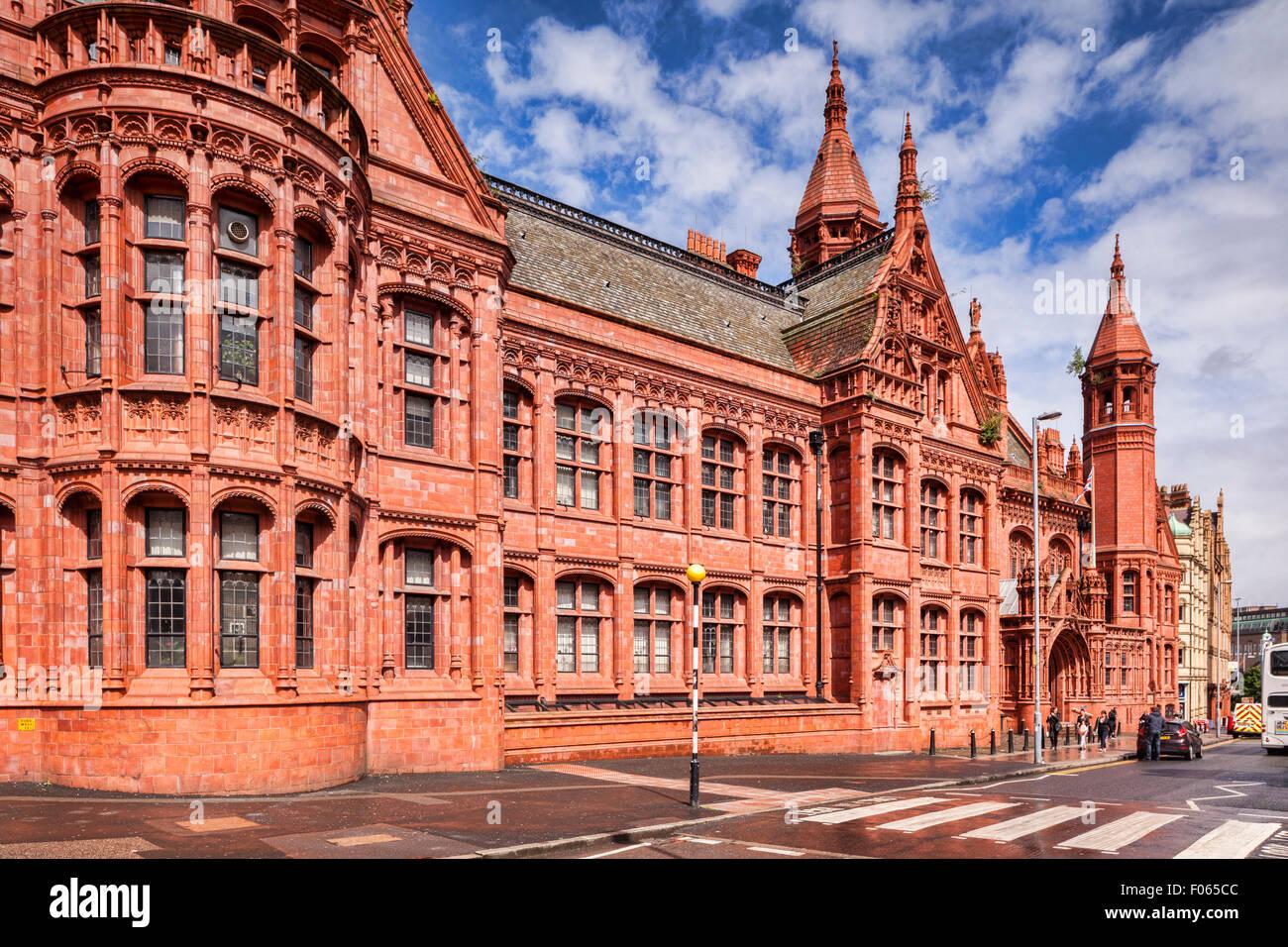 Birmingham Victoria Law Courts, Corporation Street, Birmingham, West Midlands, England - Stock Image
