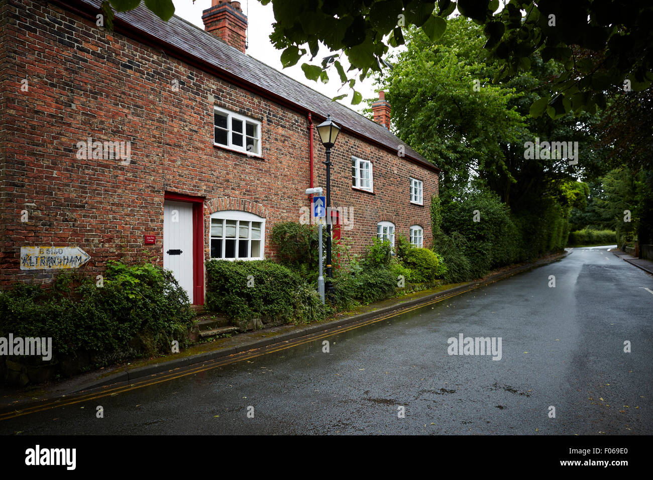 Dunham Massey Village  nr Altrincham  UK Great Britain British United Kingdom Europe European island England English - Stock Image