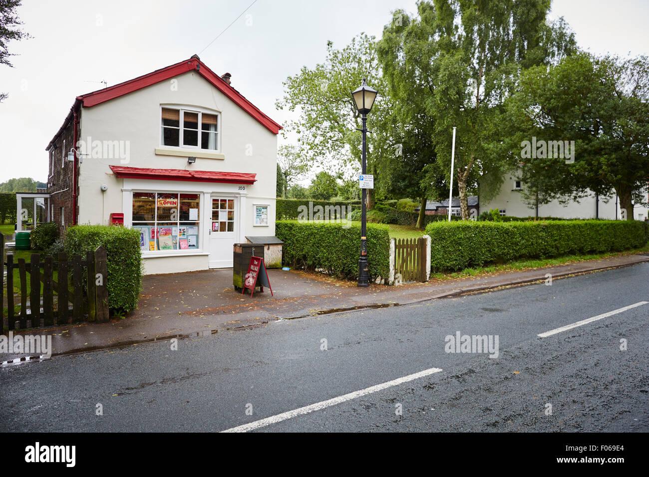 Dunham Massey Viaalge nr Altrincham village store   Dunham Massey Village  nr Altrincham  UK Great Britain British - Stock Image