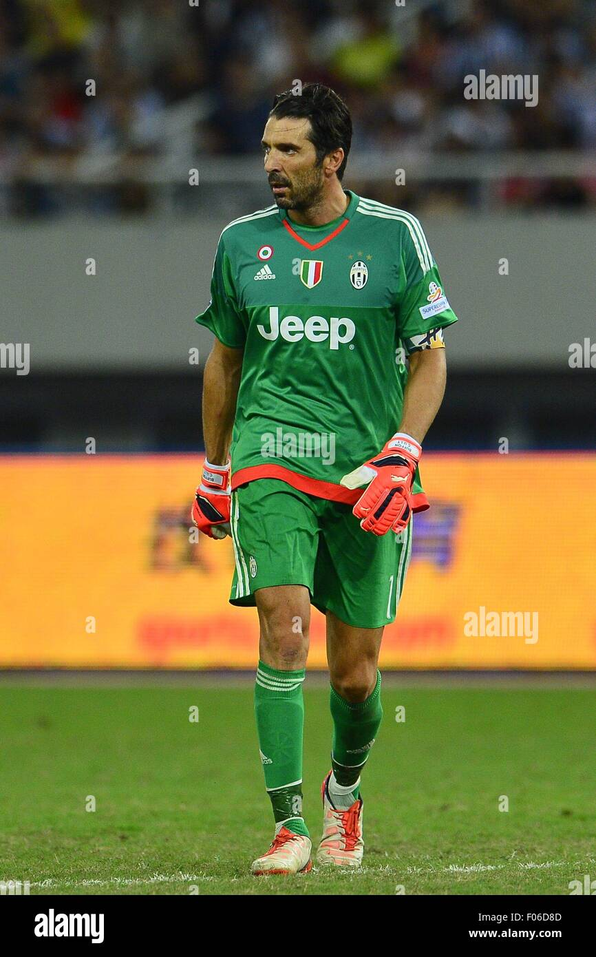 364dda39d Juventus goalkeeper GIANLUIGI BUFFON during the match between SS Lazio vs  Juventus FC at Shanghai Stadium in Shanghai
