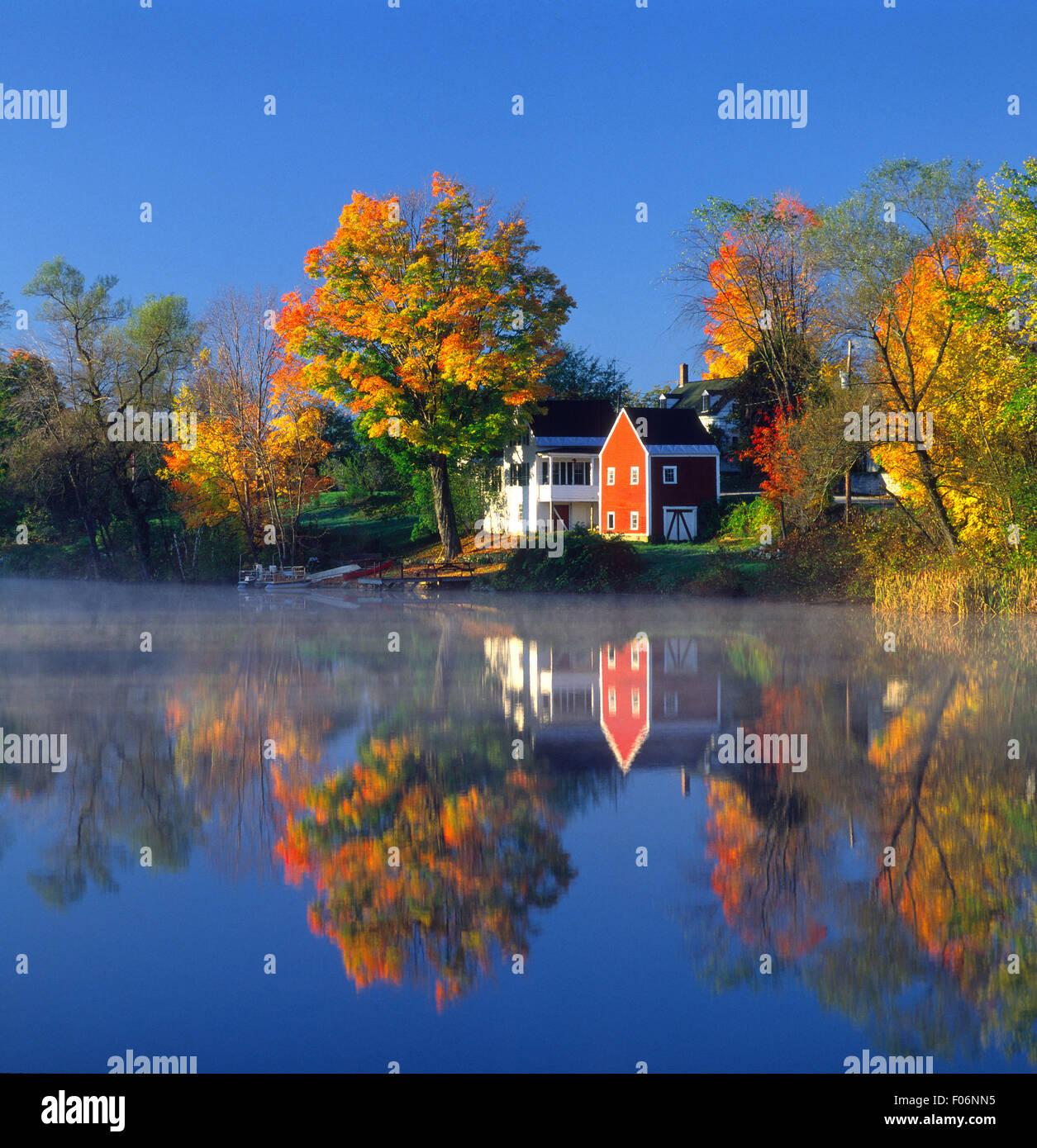 East Andover, NH USA - Stock Image